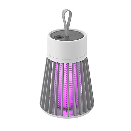 RTUQ Mückenschutzlampe Moskito Killer UV Insektenfalle,USB Elektrisch Mückenfalle LED Silent Mückenschutz Licht Mückenfalle Mückenstich Outdoor Camping /Balkon/ Liegewiese/Indoor