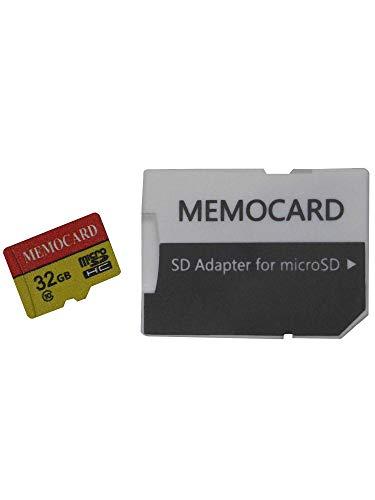 Tarjeta de Memoria Micro SD SDHC 32GB Clase 10con Adaptador