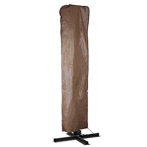 Abba Patio Outdoor Market Patio Offset Cantilever Umbrella/Parasol Cover for 9-11 Ft Umbrella, Water...