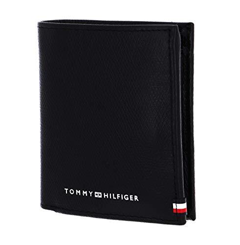 Tommy Hilfiger Herren BUSINESS TRIFOLD Kleine Lederwaren, Schwarz, One Size