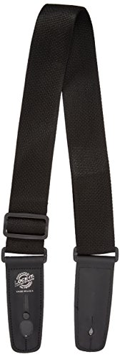 Lock It LIS001P2BLK Professional 2' Polypro Strap with Locking Ends, Black