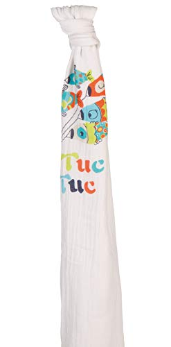 Tuc Tuc 09619 - Manta muselina, diseño osita kimono, 120x120 cm, 1 unidad