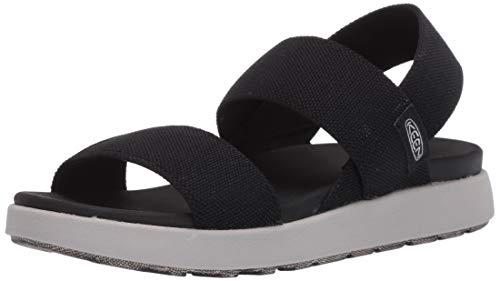 KEEN Women's ELLE Backstrap Sandal, Black, 6.5