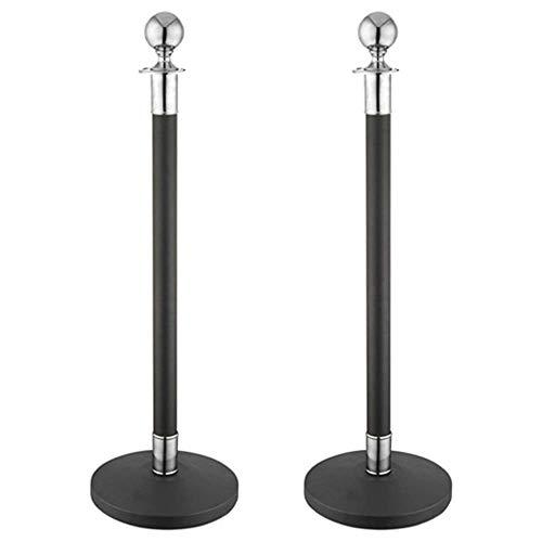 Cablematic - Extensible Pôle inoxydable dentelle noire 320x51x1000mm 2 unités