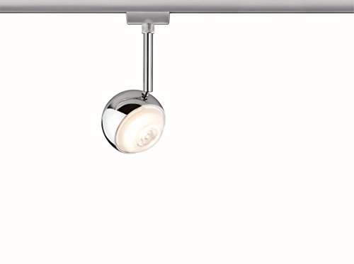 Paulmann URail System LED Spot Capsule II 1x6W Chrom matt/Chrom 230V Metall dimmbar
