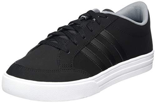 adidas Vs Set, Chaussures de Tennis Homme, Multicolore (Negbás/Negbás/Gris 000), 42 2/3 EU