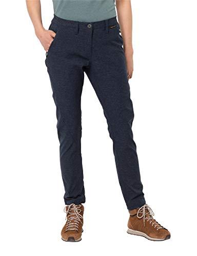 Jack Wolfskin Winter Travel Pantalon Femme, Midnight Blue, FR : XL (Taille Fabricant : 23)