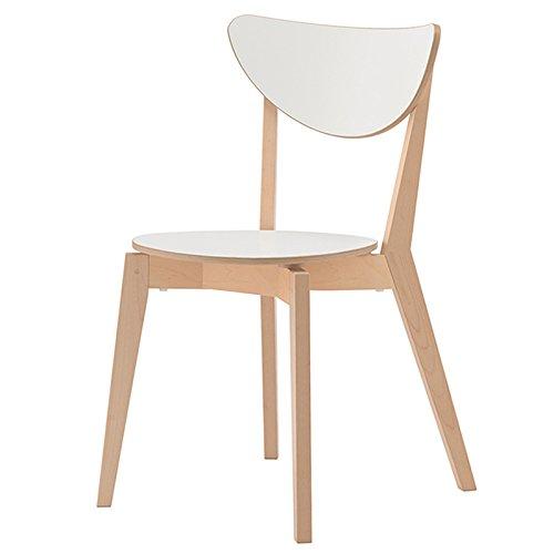 ch-AIR MéNage Moderne en Bois Massif Dinant La Chaise en Bois Massif Chaise De Salon 470 * 500 * 810mm Ordinateur Chaise Chaise De Café YZRCRK