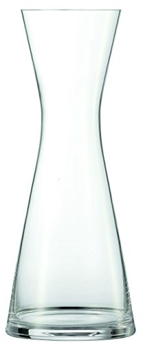 Schott Zwiesel 116521 Serie Pure Karaffe 1000 ml, Kristallglas, Drop Protect