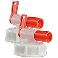 Grifo para barril, dispensador AeroFlow para bidones de plástico, Se adapta a 10 l, 20 l, 25 l.