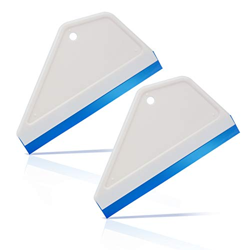 Ehdis Super Flex Water Blade Silicone Squeegee for Car Window Glass Cleaning Wash Cleaner Wiper 6 Inch - 2 PCS