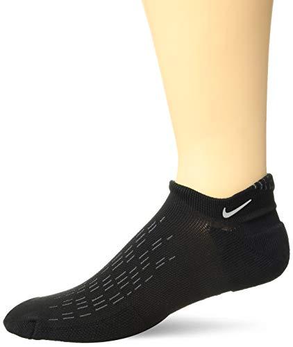 Nike Men's U NK SPARK CUSH NS Socks, Black (Black/Reflective/010), 7-8.5 (Manufacturer Size: 41-43)