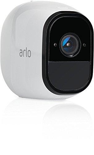 Arlo VMC4030-100EUS Caméra Additionnelle pour Kit Arlo, Arlo Pro et Arlo Pro 2, Smart Caméra de Surveillance, Grand Angle
