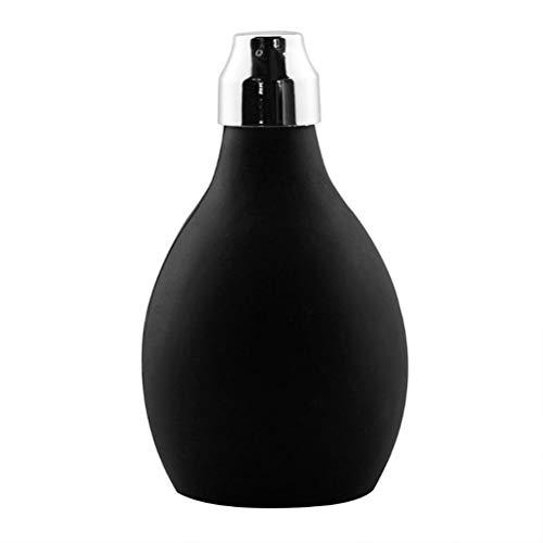 Linpu Spray de polvo – Barber polvo spray botella vacío polvo botella rellenable fibra capilar aplicador para salón pelo Styling proporciona
