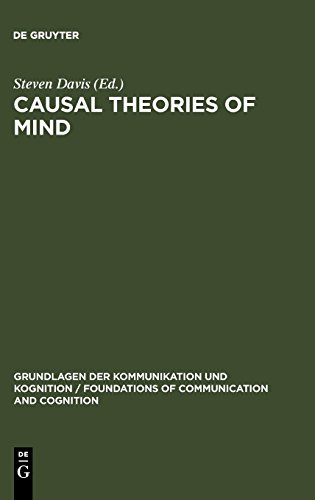 Causal Theories of Mind (Grundlagen Der Kommunikation Und Kognition / Foundations of)