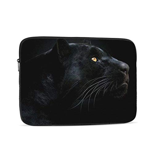Black Panther Laptop Sleeve Compatible 10-17 Inch Water Repellent Bag Black 15 Inch