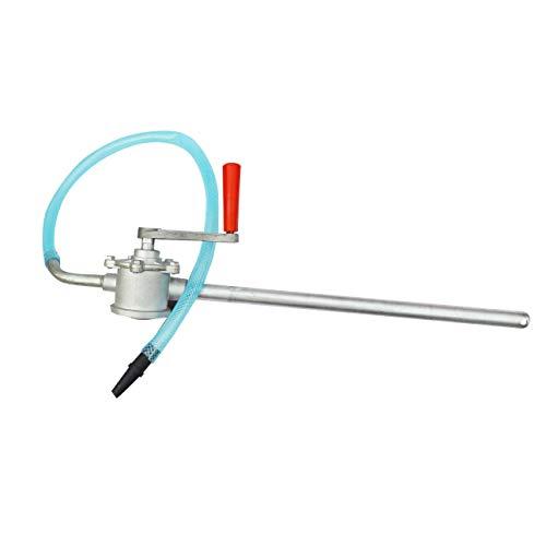 Ballylelly Handkurbel Aluminiumlegierung Ölpumpe Auto LKW Heizöl Benzin Diesel Transfer Handpumpe Saugwasser Chemische Flüssigkeitspumpe