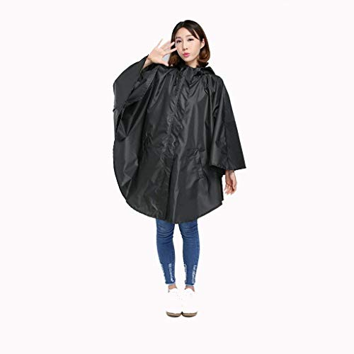 BOLAWOO Li Cabo Tipo Impermeable Poncho Gran Impermeable Cabo Bicicleta Batería Mode De Marca Impermeable Mujeres Adulto Impermeable Al Aire Libre Ting (Color : C, Size : One Size)