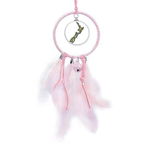 Beauty Gift Atrapasueños de Nueva Zelanda Greenery Sunshine Island pequeña campana para decoración de dormitorio