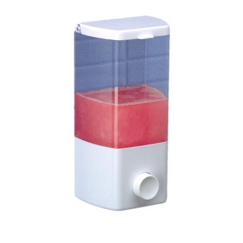 Rayen Dispensador de jabón, 1 Compartimento, Blanco