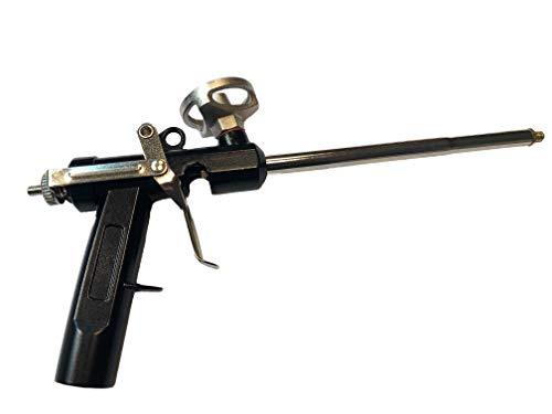 Pistola de espuma, pistola de espuma de poliuretano expandida de espuma de poliuretano (acabado metal)