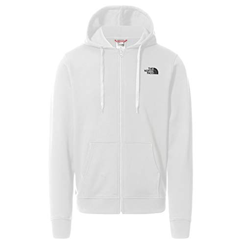 The North Face Sudadera Graphic con Capucha para Hombre, Blanco, L