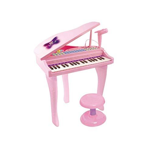 Digitale piano Keyboard Kinderspeelgoed Piano Music Early Education 3 jaar oud Gift Speel Girl Piano Toy Pink (kleur: roze) (Color : Pink)