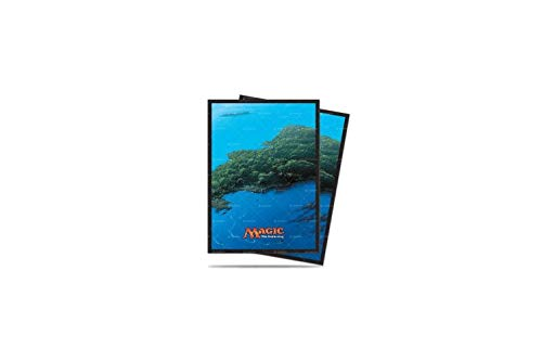 Ultra Pro Magic: The Gathering Mana 5 Island Deck Protector for Standard Size Cards (80 ct.), Multicolor, One Size