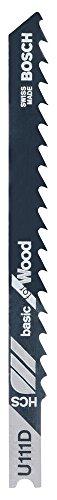 Bosch Professional 2608637559 Stichsägeblatt 3 Stichsägeblätter U 111 D