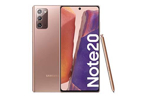 """Samsung Galaxy Note20 4G Smartphone Android Libre de 6.7"""" 256GB Mystic Bronze [Versión española]"""