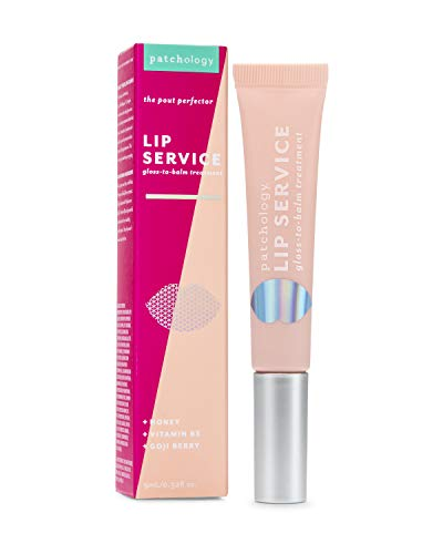 Patchology Lip Service GlosstoBalm Treatment for Dry Chapped Lips 1 Count