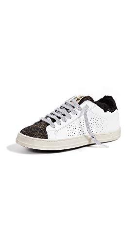 P448 Damen Sneaker Low A8JOHN WHI/MON Weilß Gold (42 EU)