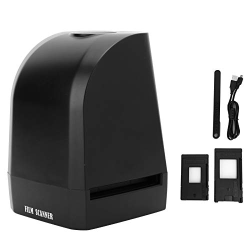 Yunseity Mini-Foto-Film-Scanner, USB-betrieben, 35 mm/135 mm, Negativ-Filmanzeige, 8 MP, digitaler Foto-Bildbetrachter, Handprojektor, JPEG