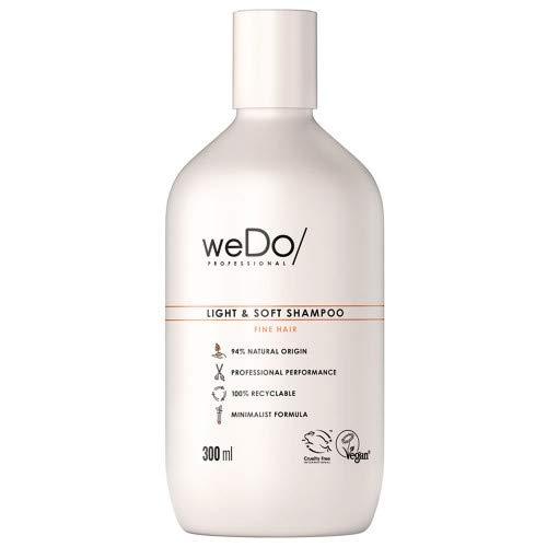 weDo/Professional Light & Soft Shampoo - leichtes Shampoo für feines Haar, 300 ml