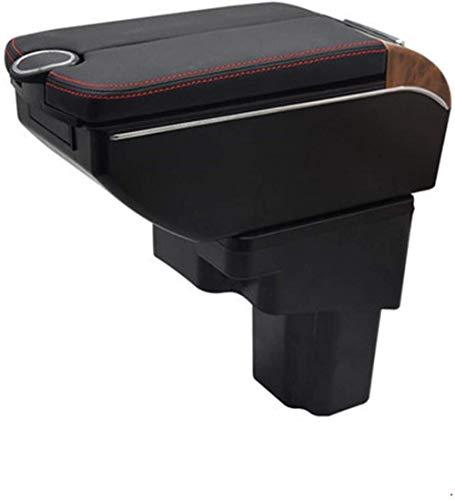 , para Caja de reposabrazos Nissan Juke, Puertas Dobles, Interfaz USB Abierta, Consola Central, Caja de Almacenamiento, reposabrazos, Accesorios para Coche, reposabrazos
