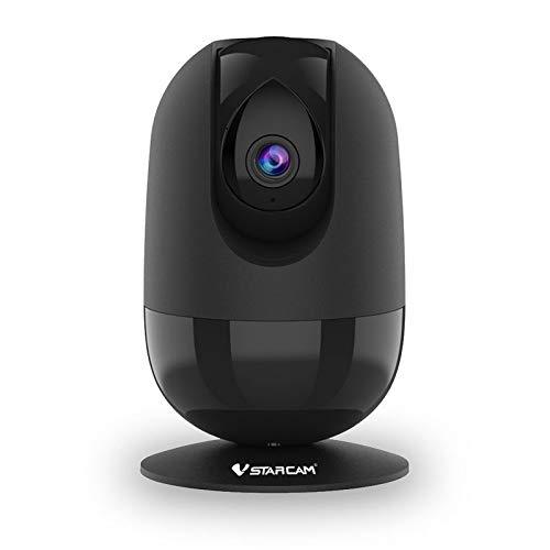 VStarcam C48S 1080P FHD Indoor WiFi Fernbedienung Sicherheit Nachtsicht Baby Monitor IP-Kamera schwenkbar Zwei-Wege-Audio Bewegungserkennung (UK-Stecker)