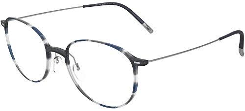 Occhiali da vista Silhouette URBAN NEO FULLRIM 2909 Grey Blue Havana 51/20/0 uomo