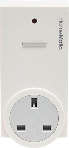 Homematic 141128A0 Funk-Schaltaktor 1-Fach, Zwischenstecker, Typ G (Vereinigtes Königreich)