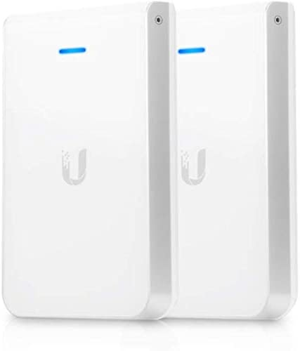 UniFi in-Wall Wi-Fi Access Point AP-IW-HD-US 802.11AC Wave 2 4X4 MIMO with Integrated Gigabit Switch (2-Pack)