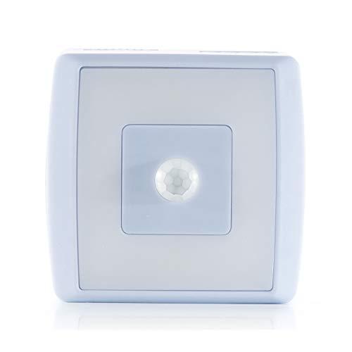 Reer Nachtlicht und Schranklicht Nightguide, sanftes und fokussiertes Licht beim Wickeln und Stillen in der Nacht, blau