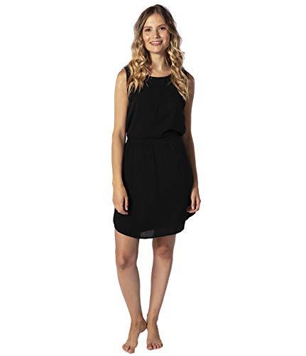 Rip Curl Sweet Thing Dress Damen,Kleid,Beach-wear,Sommerkleid,kurz,ärmellos,V-Ausschnitt,Taillenzug,Black,M