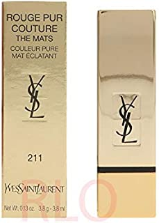YSL Rouge Pur Couture The Mats Lip Color, 211 Decadent Pink - 3.8 g