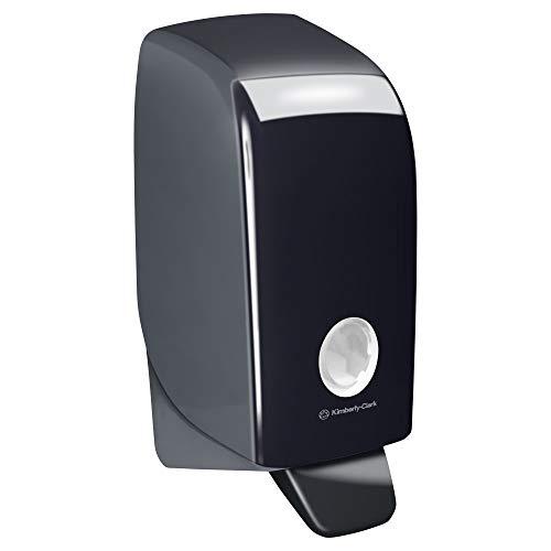 Aquarius 7173 Dispensador de gel de manos, 1 litro, Negro