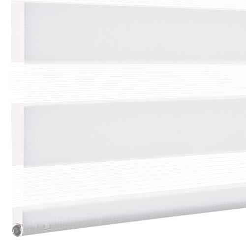 Kirsch Innovation - Elektrisches Rollo - 45x150 cm weiß