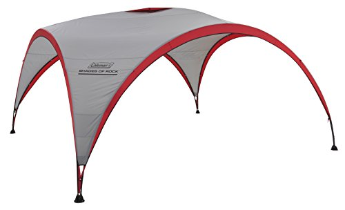 Coleman Event Shelter, rot, 4,5 x 4,5 m