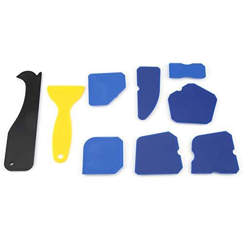 Umweltfreundlicher Dichtungsschaber, Finishing Tool Fugenreinigungsset Dichtung Füllen Schaufel Reinigung Silikon Hergestellt zur Verschönerung von Glaskleber