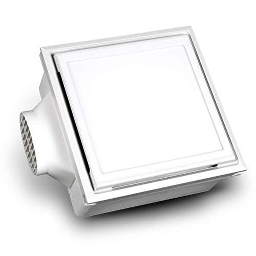 Extractor De Baño, Ventilador de extractor de baño, ventilador de extractor de cocina Techo integrado con iluminación Plus ventilación Ventilador 2-en-1 Baño Cocina Ventilador de ventilación de alta p
