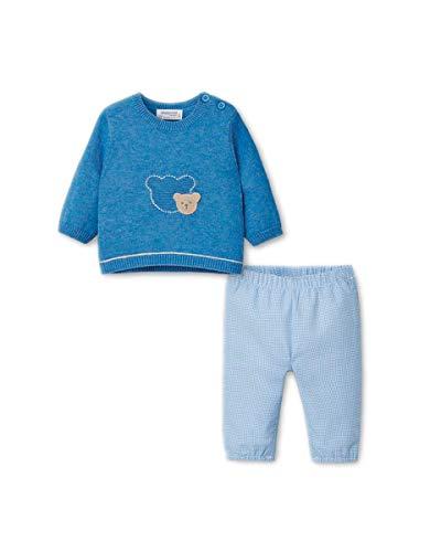 Mayoral - Conjunto de pantalón de niño Newborn turquesa 67 cm(6-9 meses)