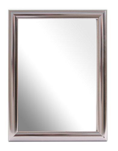 Inov8, Specchio con Cornice, 18 x 12,7 cm, Argento (Chrom - Value Chrome)