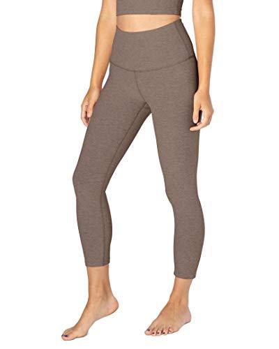 Beyond Yoga Spacedye High Waisted Capri Leggings Mocha/Latte SM (US 4-6)